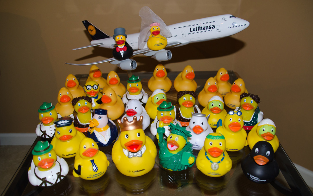 Enter Lufthansa First Class Terminal's Weekly Contest To Win A Duck!