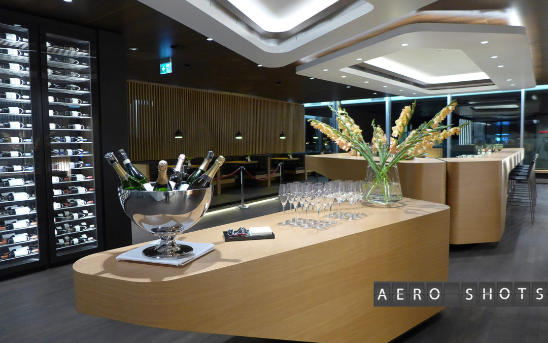SWISS First Lounge Tour & Pictorial
