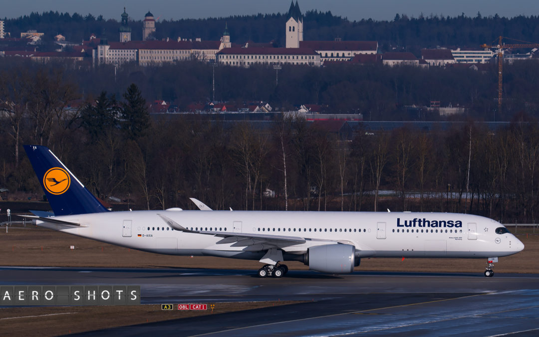 LUFTHANSA:  Second A350 Arrives This Week & Will Be Boston Bound